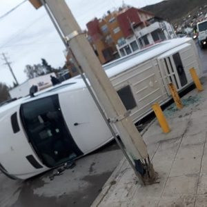 Accidente en Rivadavia y Malvinas